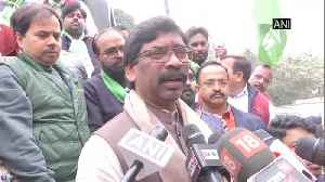 News video: Hemant Soren leaves for Delhi to invite Sonia Gandhi for swearing in ceremony