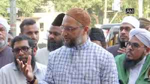 News video: No difference between NPR and NRC, Home Minister is misleading country Asaduddin Owaisi
