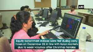 Equities indices flat in early trading, metal stocks gain [Video]