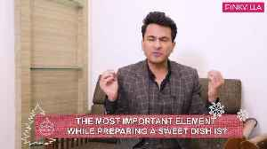 Masterchef Vikas Khanna gives his secret recipe out for Christmas this year Merry Christmas [Video]