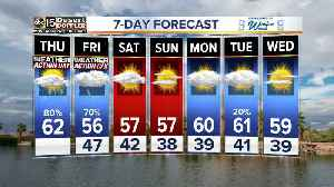 More rain in the forecast Thursday night into Friday [Video]