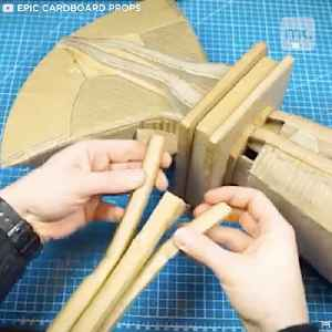 This 'Stormbreaker' axe is made from cardboard [Video]
