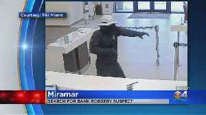 Search On For Miramar Bank Robber Who Got Away On Bike [Video]