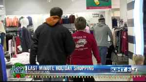 Last Minute Holiday Shopping [Video]