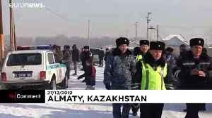 At least 12 people die in Kazakhstan plane crash [Video]