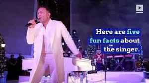 Happy Birthday, John Legend! (Saturday, Dec. 28th) [Video]