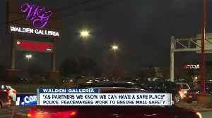 Cheektowaga Police, Buffalo Peacemakers work to ensure Walden Galleria safety [Video]