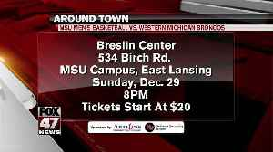 Around Town - Michigan State vs. Western Michigan - 12/27/19 [Video]