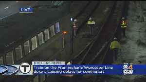 Commuter Rail Train Derails Near Lansdowne Station [Video]
