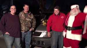 Victim in Semitrailer Crash Keeps Christmas Tradition of Giving Car to Family in Need [Video]