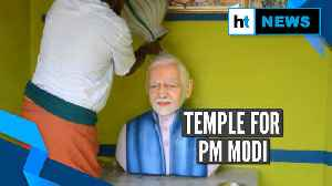 Watch: BJP worker builds a temple for PM Narendra Modi in Tamil Nadu [Video]