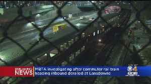 MBTA Investigating Commuter Rail Derailment [Video]