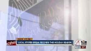 Kansas City retailers share in record holiday shopping season [Video]