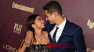 Sarah Hyland and Wells Adams celebrate first engaged Christmas [Video]