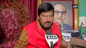 News video: Not right to say all are Hindus Ramdas Athawale on RSS chief remark
