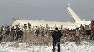 At least 12 people dead in Kazakhstan plane crash [Video]
