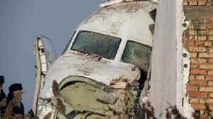 Bek Air plane crashes near Kazakhstan's Almaty airport [Video]