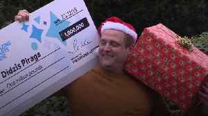 Single father wins £1m on online scratchcard [Video]
