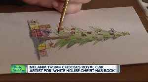 Michigan illustrator selected for 'White House Christmas Book' [Video]