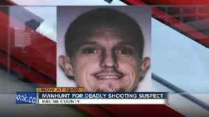 Neighborhood shocked after apparent homicide and ensuing manhunt [Video]