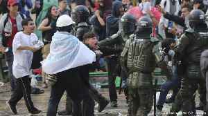 Colombia police under pressure over protest crackdown [Video]