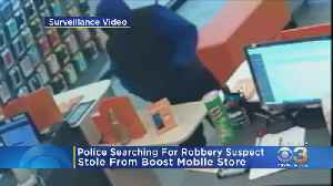 Police Searching For Robbery Suspect [Video]