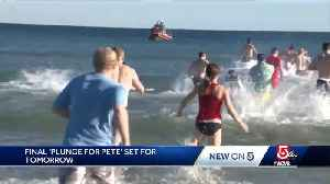 Final 'Plunge for Pete' set for Saturday [Video]