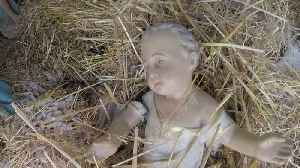 1 Year After Theft, Baby Jesus Returned To Nativity Scene [Video]