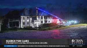 Fire Destroys $2M Mansion In Concord [Video]