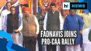 Fadnavis joins pro-CAA rally in Mumbai, anti-CAA rally organised at Azad Maidan [Video]
