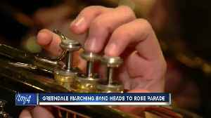 Greendale Marching Band heads to Pasadena for the Rose Bowl [Video]