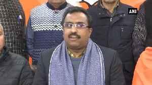 Internet services to resume in JK soon Ram Madhav [Video]