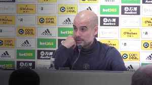 Guardiola focusing on second place after City lose at Wolves [Video]
