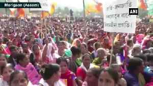 BJP takes out rally to support CAA in Assam's Morigaon [Video]