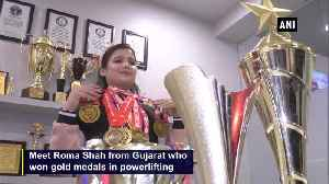 Surat girl wins gold medals in world powerlifting championships [Video]