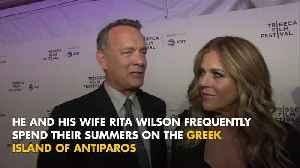 Tom Hanks awarded honorary Greek citizenship [Video]
