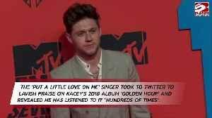Niall Horan praises Kacey Musgraves [Video]