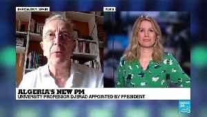 Algeria's new PM : University professor Djerad appointed [Video]