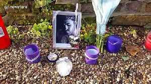 Tributes placed outside George Michael's home after death of sister [Video]