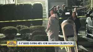 Five stabbed during New York Hanukkah celebration [Video]