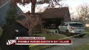 News video: Bay Village police investigating possible homicide/suicide