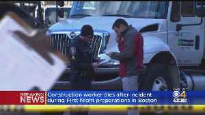 Construction Worker Killed In Accident While Setting Up For First Night [Video]