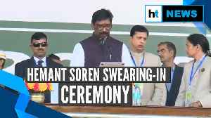 News video: Hemant Soren takes oath as the 11th chief minister of Jharkhand