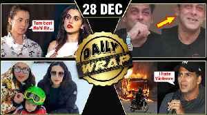 Salman Khan EMOTIONAL, Akshay Kumar Reaction On CAA, Kangana Dislikes Taapsee | Top 10 News [Video]