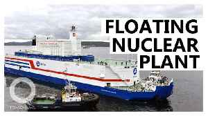 Russia's floating nuclear power plant now produces electricity [Video]