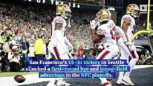 49ers Defeat Seahawks to Win NFC West and No. 1 Seed [Video]