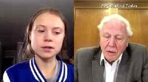 Thunberg meets Attenborough, an inspiration [Video]