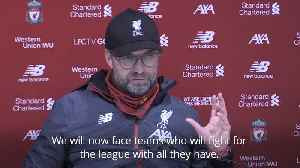 Klopp pleased with win over 'tough' Wolves [Video]