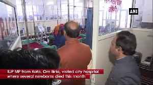 LS Speaker Om Birla visits Kota hospital to review situation [Video]
