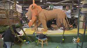 Sneak Peek: 2019 Rose Bowl Floats [Video]